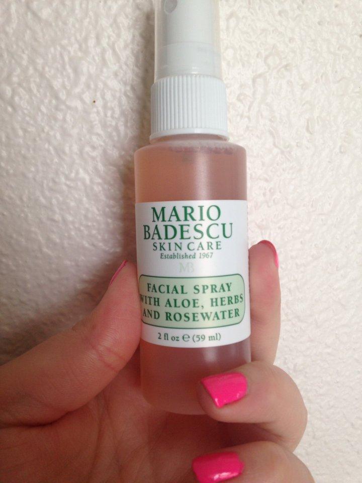 // Mario Badescu Facial Spray Review//