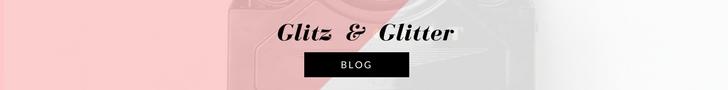 GLITZ & GLITTER thin banner
